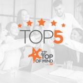 Top 5 - Top Of Mind de RH