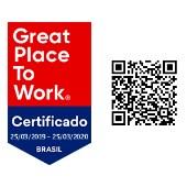 Certificado GPTW (Ótimo lugar para trabalhar)