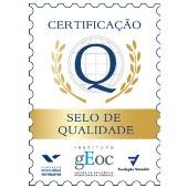 Selo de Qualidade do setor de recuperação de crédito, pelo Instituto GEOC