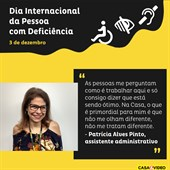Homenagem - Dia Internacional da Pessoa com Deficiência