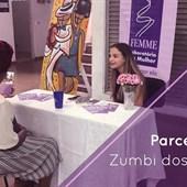 """Faculdade Zumbi dos Palmares, parceira do FEMME, organiza a """"Feira de Profissões e Diversidade""""."""