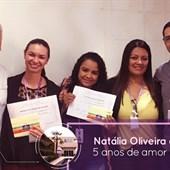 Parabéns as colaboradoras Natália Oliveira e Ane Kellen, pelos 5 anos dedicados ao Time FEMME!!