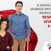 O GP oferece oportunidades iguais para todos!