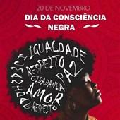 Arte Ganhadora do Concurso Interno - Dia da Consciencia Negra