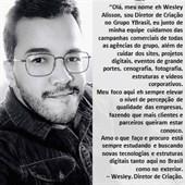 Depoimento Diretor de Criação Wesley