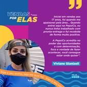 Se inspire na Viviane, gerente de Vendas DTS - ES na PepsiCo, e faça parte do nosso time!