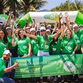 Colaboradores de todas as áreas juntos ao nosso time comercial em várias rotas de vendas do Oi Fibra