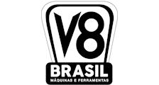 V8 BRASIL logo