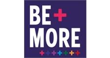 BE MORE + logo