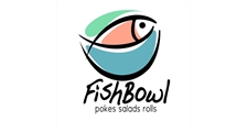 Fish Bowl, pokes, salads and rolls logo