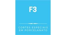 F3 CORTES ESPECIAIS EM PORCELANATO logo