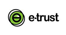 E-TRUST logo