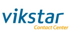 VIKSTAR CONTACT CENTER logo
